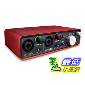 [美國直購 ShopUSA] 進口 Focusrite Scarlett 2i2 USB 錄音介面 (全新盒裝) 2in/2out Audio Interface 錄音盒 錄音卡 $6499