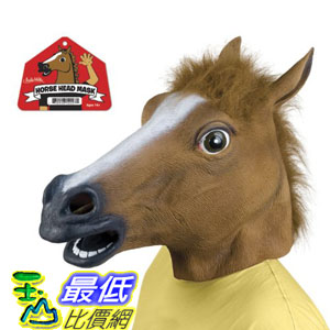 [103 現貨] Accoutrements Horse Head Mask 美國進口 超擬真動物面具 馬頭 頭套_TB01 $1348