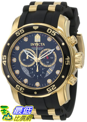 [103 美國直購 ShopUSA] Invicta 手錶 Men's 6981 Pro Diver Collection Chronograph Black