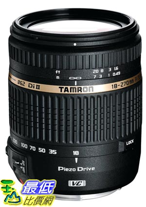 [103 美國直購 ] Tamron AF 18-270mm f/3.5-6.3 VC 變焦鏡頭 Built in Motor for Nikon DSLR Cameras $19657
