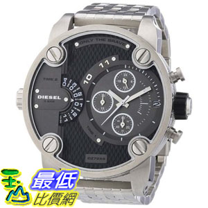 [103 美國直購 ShopUSA] Diesel SBA Dual Time Zone Stainless Steel 男士手錶 - DZ7259 $8433