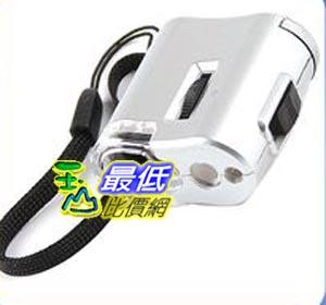 《103 玉山最低比價網》全新 攜帶式 60倍 LED照明 驗鈔燈 放大鏡 珠寶鏡 顯微鏡 (16497_F23) $95