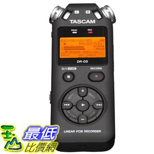 [103 美國直購] TASCAM DR-05 Portable 數字錄音機 Digital Recorder $4688