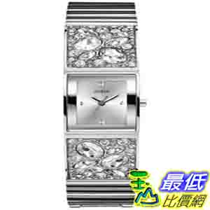 [美國直購 ShopUSA] Guess 手錶 Women's U0002L1 Silver Stainless-Steel Quartz Watch with Silver Dial $4828