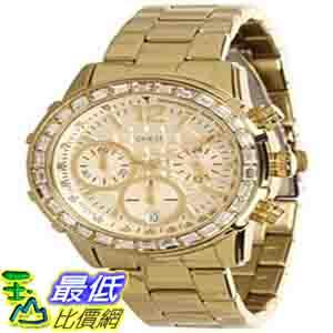 [美國直購 ShopUSA] Guess 手錶 Women's U0016L2 Gold Stainless-Steel Quartz Watch with Gold Dial $3955