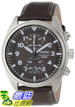 [美國直購 ShopUSA] Seiko Men's SNN241 Chronograph Brown Dial Watch $4009