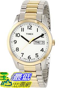 [美國直購 ShopUSA] Timex 手錶 Men's Elevated Classics T2N063 Silver Two-tone Stainless-Steel Quartz Watch with White Dial