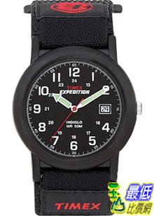 [美國直購 ShopUSA] Timex 手錶 Men's Expedition T40011 Black Nylon Quartz Watch with Black Dial