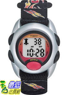 [美國直購 ShopUSA] Timex 手錶 Children's Kids T78751 Black Cloth Quartz Watch with Digital Dial