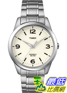[美國直購 ShopUSA] Timex 中性男女通用錶  Weekender T2N646 Silver Stainless-Steel Quartz Watch #1681884694
