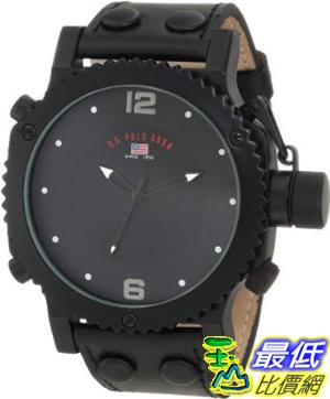 [美國直購 ShopUSA] U.S. Polo Assn. 手錶 Men's US5211 Black Analog Watch $1180