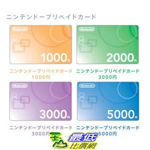 [現金價] 任天堂點數卡 Wii U/3DS 5000點 儲值點數卡