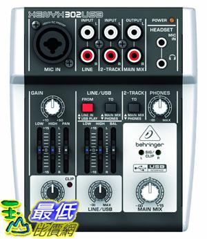 [美國直購 USAShop] Behringer XENYX 302USB 混音器 USB介面 德國品牌 302 USB 介面
