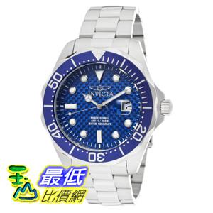 [美國直購 Shop USA] Invicta 手錶 Men's 12563 Pro Diver Blue Carbon Fiber Dial Stainless Steel Watch