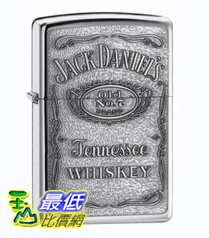 [美國直購 Shop USA] Zippo Jack Daniel's Label Pewter Emblem Pocket Lighte $1131