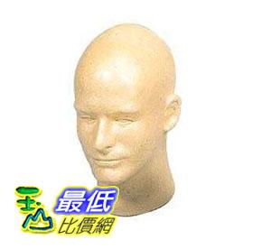 [美國直購 Shop USA]  Gold Male 泡沫頭 Mannequin Foam Head  $603