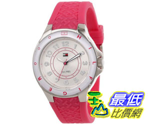 [美國直購禮品暢銷排行榜] Tommy Hilfiger 手錶 Women's 1781272 Sport Pink Silicon Stainless Steel Watch $3083