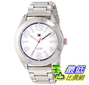 [美國直購禮品暢銷排行榜] Tommy Hilfiger 手錶 Women's 1781259 Sport Stainless Steel Bracelet Watch $3189