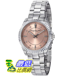 [美國直購禮品暢銷排行榜] Stuhrling 手錶 Original Women's 408L.12114 Aquadiver Regatta Lady Marine Swiss Quartz $3627