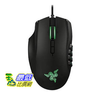 [103 美國直購 USAShop] 左手滑鼠  Razer Naga 2014 Left Handed MMO Gaming Mouse 3559
