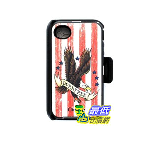 [103 美國直購] OtterBox Defender Series Case and Holster for iPhone 4/4S手機皮套 $999