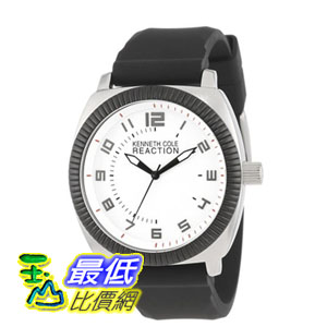 [美國直購] 男士手錶 Kenneth Cole REACTION Unisex RK1273 Street Sport Watch with Black Silicone Band  $2173