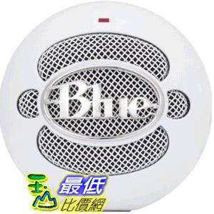 [美國直購] Blue Microphones Snowball iCE Condenser Microphone, Cardioid 專業型 USB 麥克風 (白色) Snowball iCE