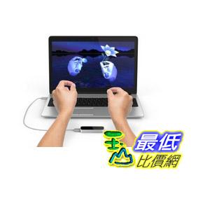 [103 美國直購] Leap Motion Controller 3D手勢 追蹤 體感控制器 支援 PC / Mac $3350