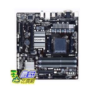[103 美國直購 ShopUSA] Gigabyte 主機板 AM3+ AMD DDR3 1333 760G HDMI USB 3.0 Micro ATX Motherboard GA-78LMT-USB3 $2709