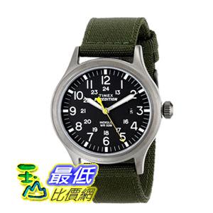 [103 美國直購] 男士手錶 Timex Men's T49961 Expedition Scout Watch with Nylon Band