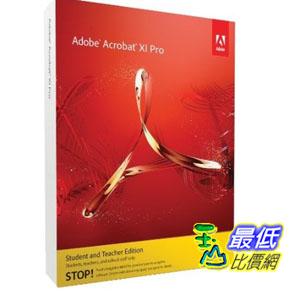 [103 美國直購 ShopUSA] 美國暢銷軟體教育學生版Adobe Acrobat Professional XI Windows