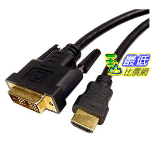 [103美國直購 USAShop] Cables Unlimited PCM-2296-06 HDMI轉DVI D電纜, 6 feet $364