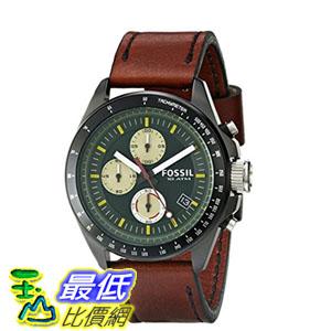 [103 美國直購] 男士手錶 Fossil Men's CH2920 Stainless Steel Watch with Brown Leather Band  $4137