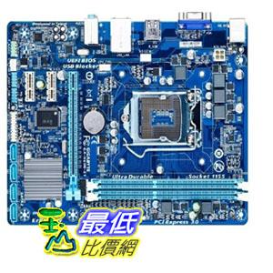 [103 美國直購 ShopUSA] Gigabyte 主機板 LGA1155 Intel H61 Express Micro ATX DDR3 1600 Motherboards GA-H61M-S1  $2105