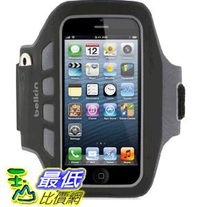[美國直購] 貝爾金 Belkin EaseFit Plus Armband 運動臂套 (黑色) 臂帶iPhone 5 ,5S ,5c彈性手臂套 F8W106ttC00 $619