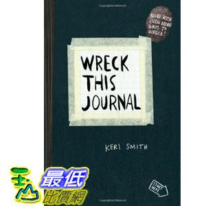[美國直購] 2015 Amazon 暢銷書排行榜 Wreck This Journal (Black) Expanded Ed. 0399161945 $574