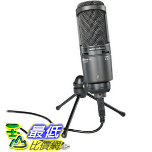 [美國直購] Audio-Technica 話筒 AT2020USB PLUS Cardioid Condenser USB Microphone $6498
