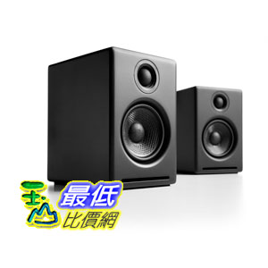 [104美國直購] Audioengine Black 揚聲器 B00DQMJE7E A2+ Premium Powered Desktop Speakers Pair $11488