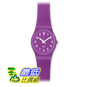 [美國直購 ShopUSA] Swatch 手錶 Originals The Lady Sweet Purple Silicone Ladies Watch LV115 $2089