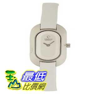 [美國直購 ShopUSA] Obaku 手錶 Women's V136LCIRW Oval Silver Dial White Leather Watch $2420