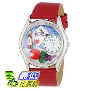 [美國直購 ShopUSA] Whimsical 手錶 Women's S0310004 Wine and Cheese Red Leather Watch $1957