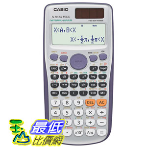 [美國直購] 現貨 計算機 Casio FX-115ES Plus Scientific Calculator FX-115ES PLUS _T121