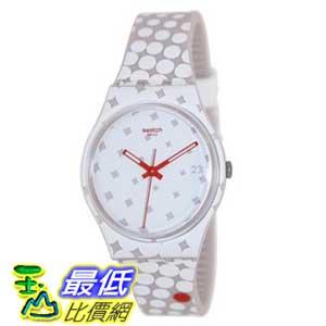 [美國直購 ShopUSA] Swatch 手錶 Men's Originals GZ412 Two-Tone Silicone Swiss Quartz Watch with White Dial $2530