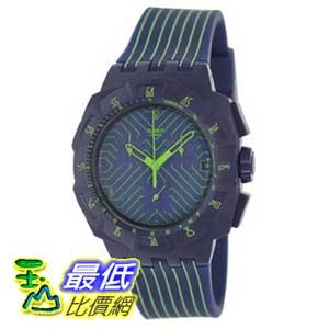 [美國直購 ShopUSA] Swatch 手錶 Men's Originals SUIN401 Blue Silicone Swiss Quartz Watch with Blue Dial $3904