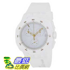 [美國直購 ShopUSA] Swatch 手錶 Men's Originals SUIW413 White Silicone Swiss Quartz Watch with White Dial $4108