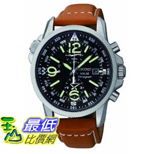 [美國直購 ShopUSA] Seiko 手錶 Men's SSC081 Adventure-Solar Classic Watch $8977