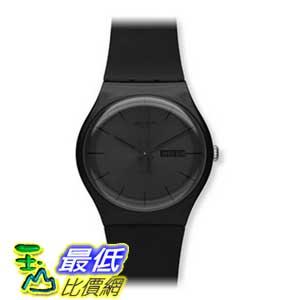 [美國直購 ShopUSA] Swatch 手錶 Men's SUOB702 Quartz Black Dial Day And Date Plastic Watch $2803