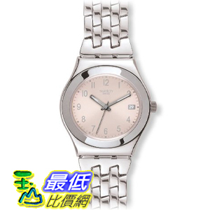 [美國直購 ShopUSA] Swatch 手錶 YLS440G Women's Swiss Follow Ways Pink Dial Stainless Steel Watch $4355