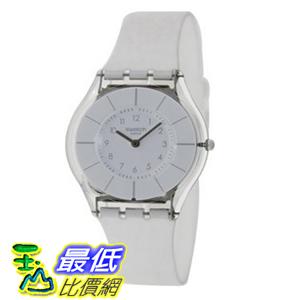 [美國直購 ShopUSA] Swatch 手錶 White Classiness White Silicone Ladies Watch SFK360 $4357