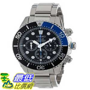 [美國直購 ShopUSA] Seiko 手錶 Men's SSC017 Classic Solar Dive Chronograph Watch $7759
